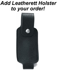 Pepper Spray Leatherette Holster