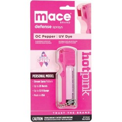 Mace Personal Model Hot Pink 10 Percent Pepper Spray