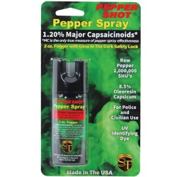 Pepper Shot 1.2% MC 2 Oz Pepper Spray Fogger
