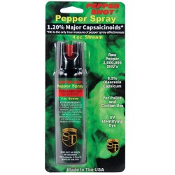 Pepper Shot 1.2% MC 4 Oz Pepper Spray Stream