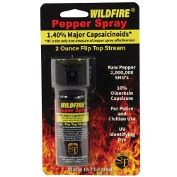 Wildfire 1.4% MC 2 Oz Pepper Spray Flip Top