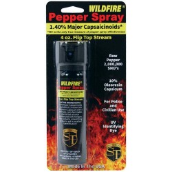 Wildfire 1.4% MC 4 Oz Pepper Spray Flip Top