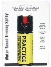 2 oz Inert Practice Defensive Spray Stream