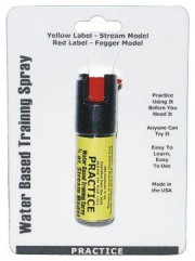 Inert 1/2 Oz Practice Defensive Spray