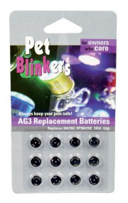 12 Pack Pet Blinker Replacement Batteries