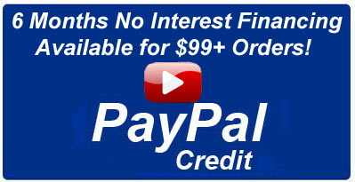 Watch Paypal Credit Video - 6 Months to Pay!