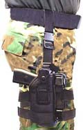 TASER M26c Heavy Duty Ballistic Nylon Thigh Holster
