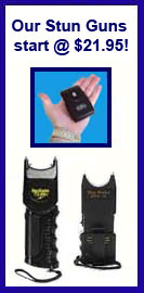 FREE HOLSTERS WITH SELECTED STUN GUNS!
