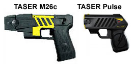 Taser M26c Compared to the Taser Pulse