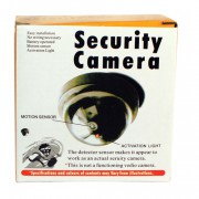 Fake Dummy Dome Camera with Flashing Red Light