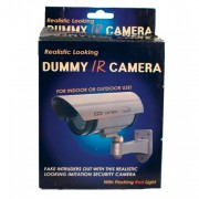 Infrared Fake Dummy Camera with Flashing Red Light