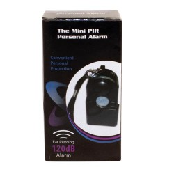 Travel Alarm with PIR Sensor