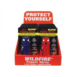 Wildfire Display 12 1/2 Oz Leatherette Mixed