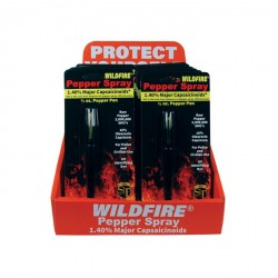 12 Wildfire Pepper Pens with Counter Display